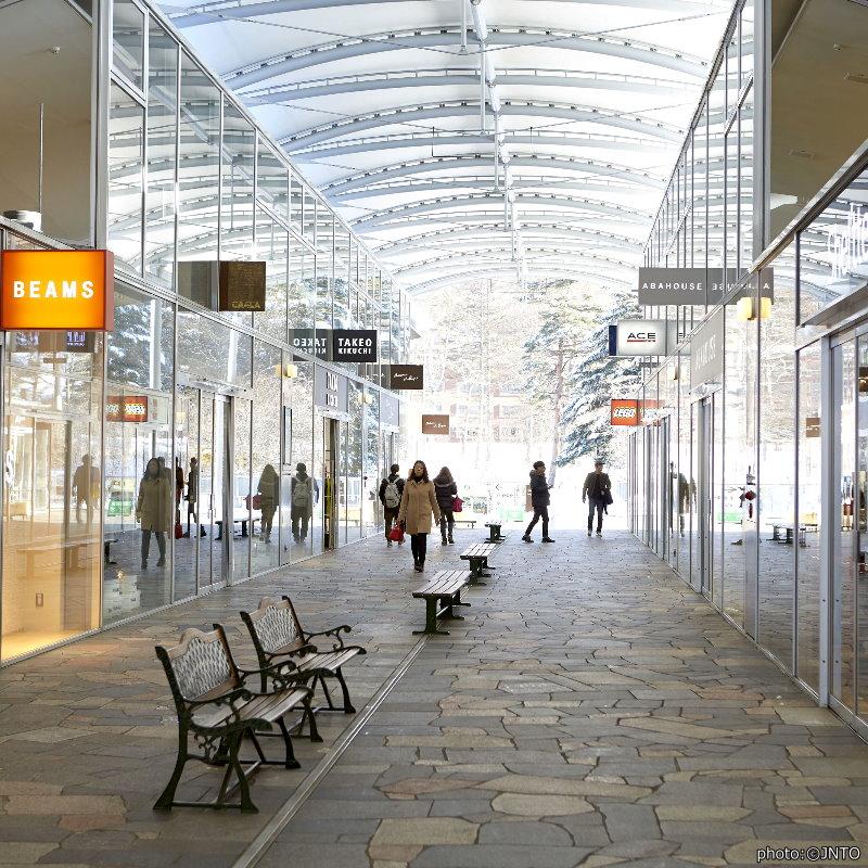 【輕井澤王子購物廣場】超大規模購物中心 一天逛不完的輕井澤Outelet