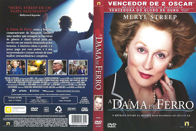 Capa DVD A Dama de Ferro
