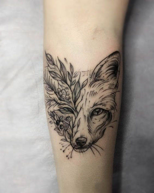 Cute Wolf Tattoos