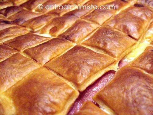 Cubotti di Pasta Sfoglia con Cotto e Fontina