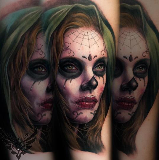 Modele Tatuaje Dia De Los Muertos Tattoo Dia De Los Muertos Di