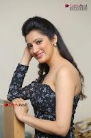 Telugu Actress Richa Panai Stills in One Shoulder Floral Long Dress at Rakshaka Bhatudu Movie Interview  0274.JPG