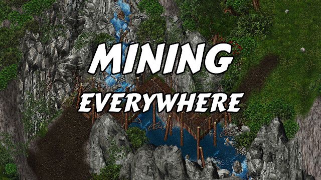 UO OUTLANDS (Ultima Online) • MINING EVERYWHERE!!!