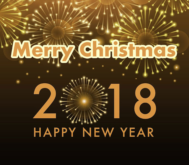 Merry Christmas  New Year Wishes 2018