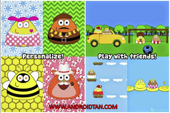 Pou Mod Apk Unlimited Money Coins Terbaru
