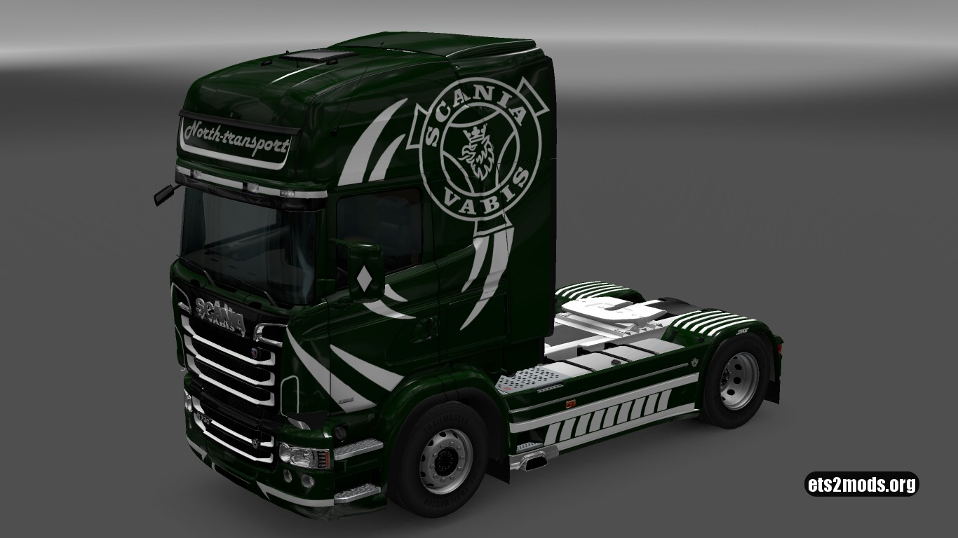 North Transport Skin for Scania RJL