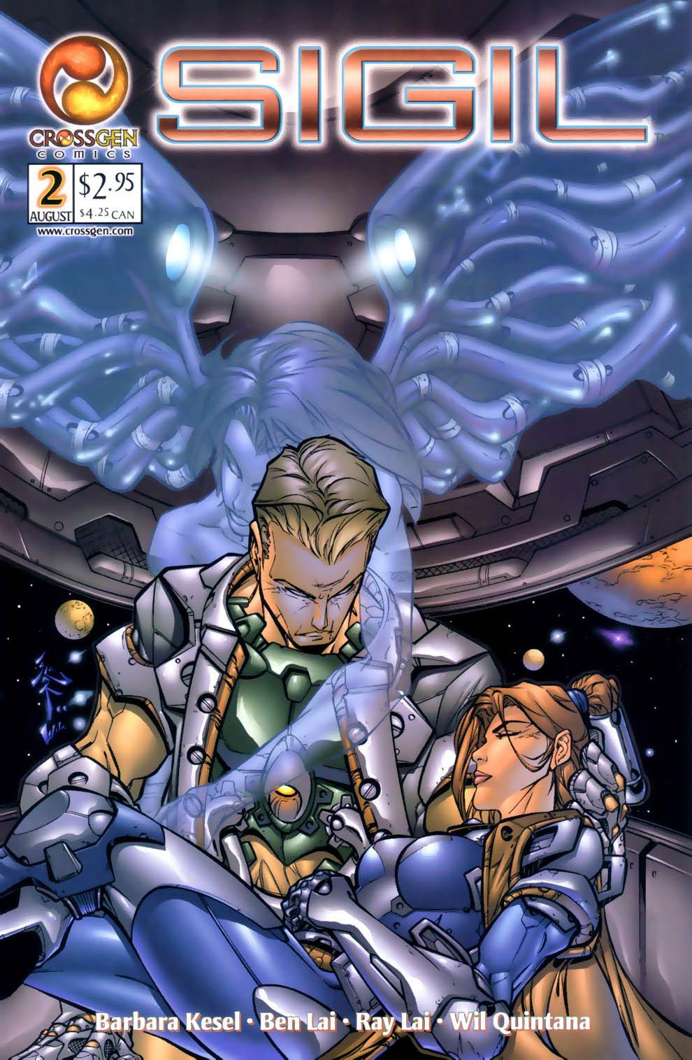 Read online Sigil (2000) comic -  Issue #2 - 1