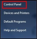 Control Panal
