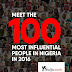 #Y100 - See List of 100 Most influential Nigerians in 2016