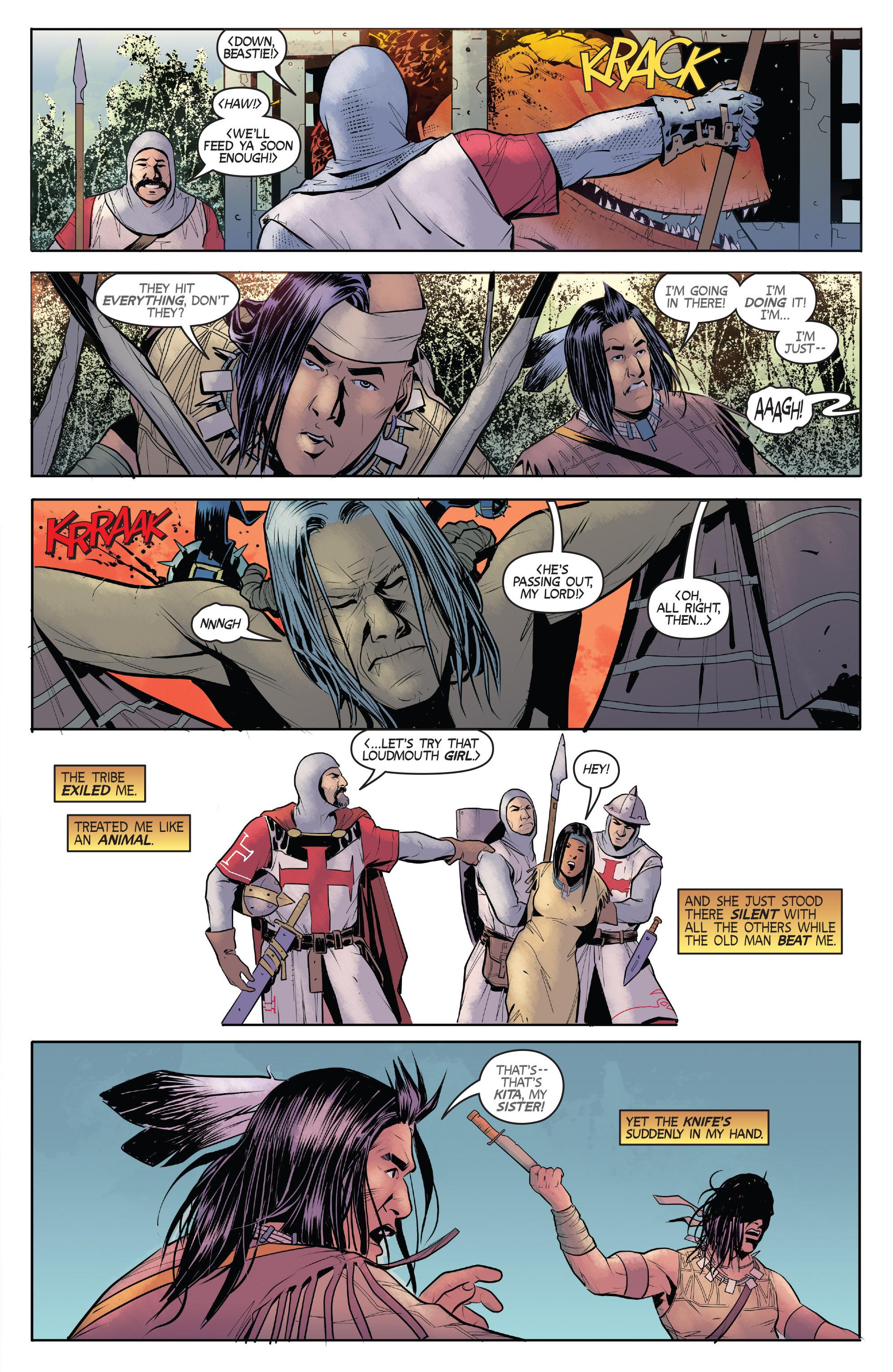 Read online Turok: Dinosaur Hunter (2014) comic -  Issue # _TPB 1 - 30
