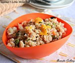 Saamai Vegetable Upma, Little Millet Vegetable Upma