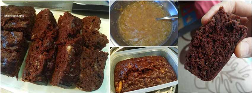 Resep Membuat Banana Chocolate Cake