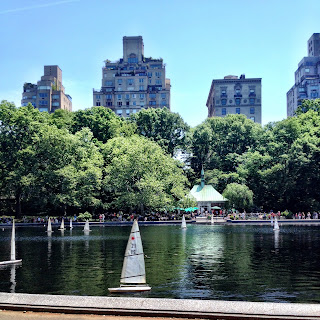 Image result for conservatory water central park