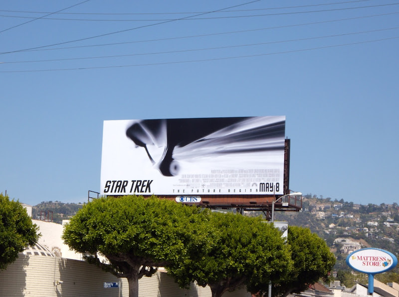 Star Trek 2009 billboard