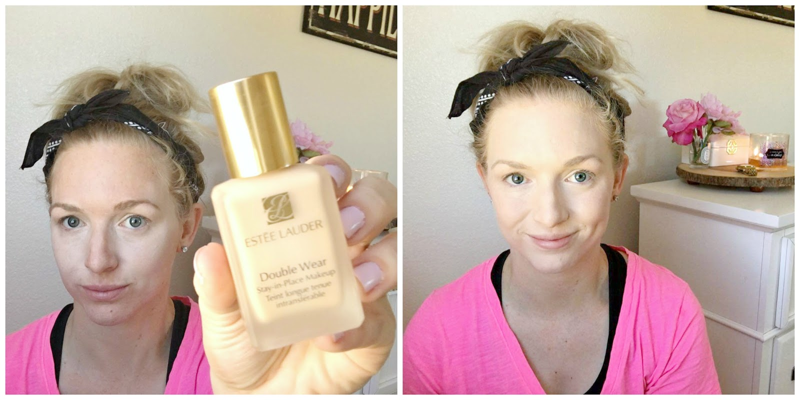 how to use estee lauder double wear foundation