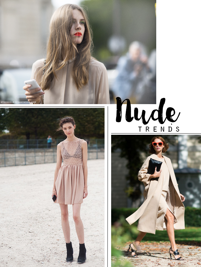 TREND // 1000 SHADES OF NUDES