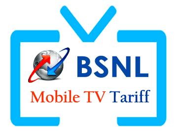 BSNL Mobile TV Prepaid Plans