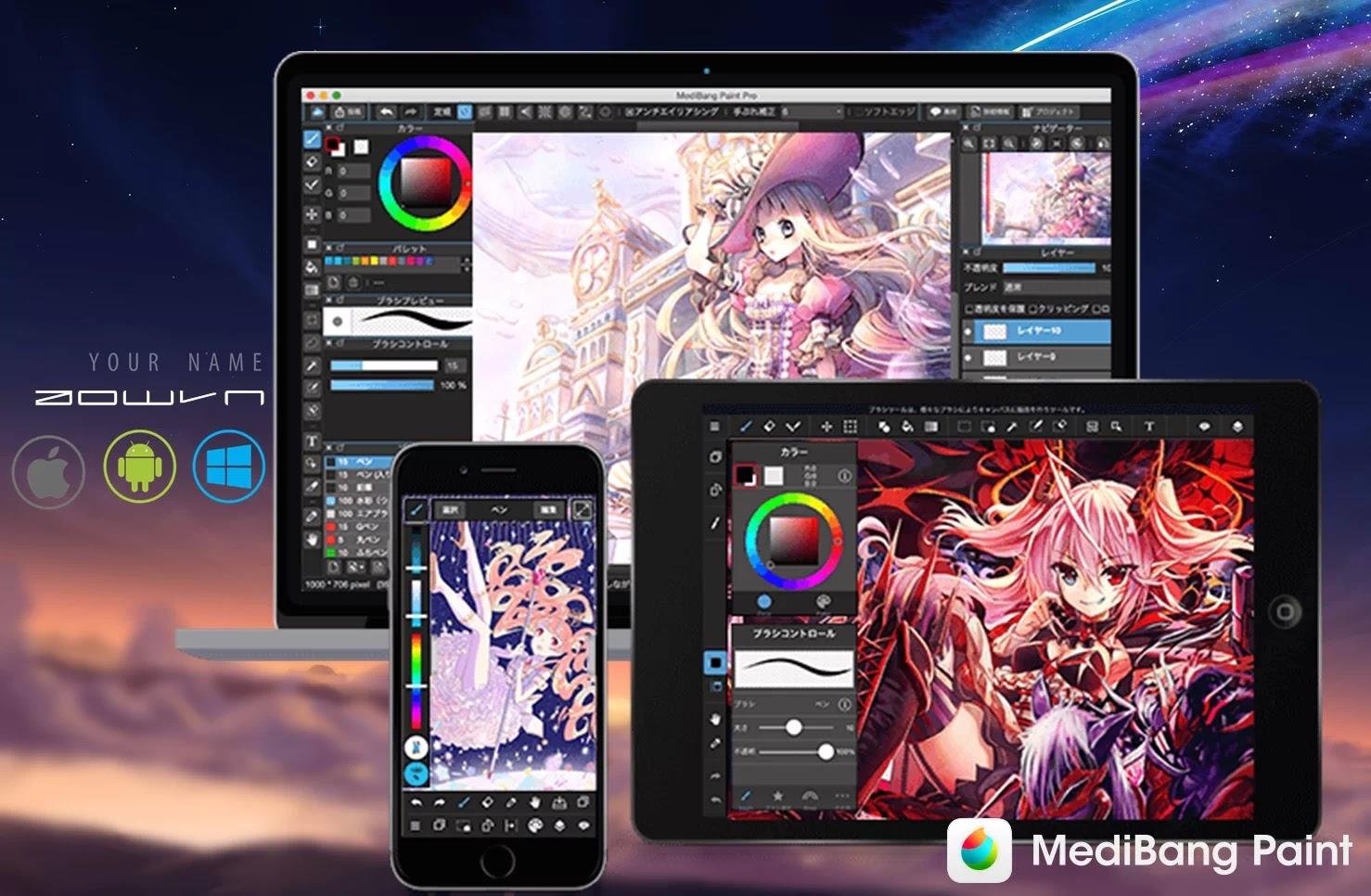 AowVN medibang%2B%252810%2529 - [ HOT ] MediBang Paint - Vẽ manga , anime mọi lúc mọi nơi trên Android , IOS và PC | Tiếng Việt