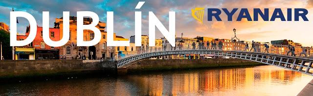 Ruta Vigo - Dublín, con Ryanair