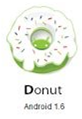 Android versi Donut