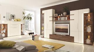 sala moderna mueble de tv