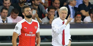 Wenger Says He Wants Olivier Giroud To Stay But ...