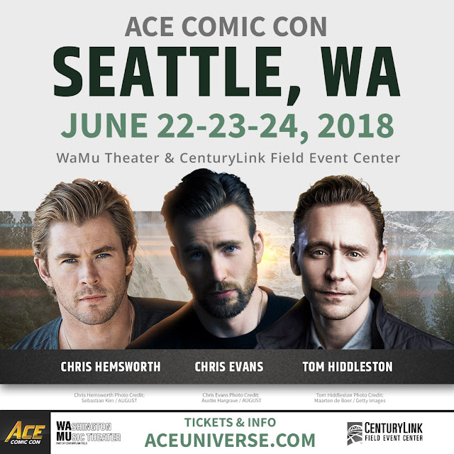 ACE Comic Con Seattle