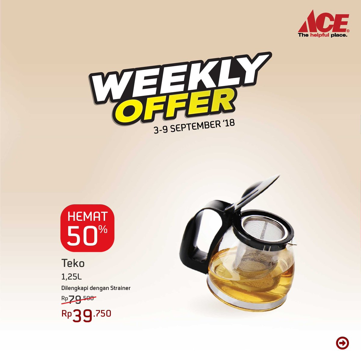AceHardware - Promo Weekly Offer Harga Khusus (s.d 9 Sept 2018)