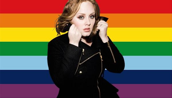 """""""A comunidade LGBTQA é como minha alma gêmea"""", afirma Adele em homenagem as vítimas do atentado em Orlando"""