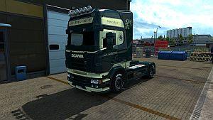 Klemmensen skin for Scania RJL