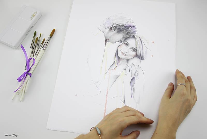 Retratos especiales para regalar a tu pareja