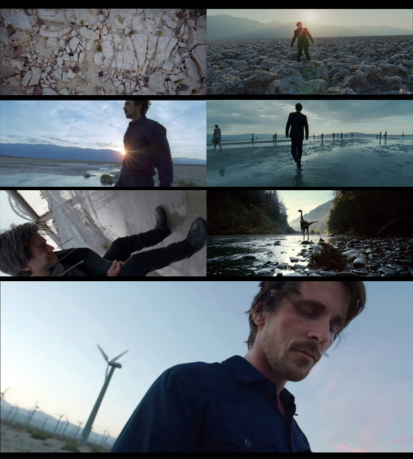 Terrence Malick Knight of Cups Trailer purgatory landscapes motif