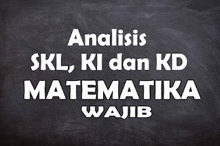 Analisis SKL KI dan KD Matematika Wajib SMA Tahun 2021
