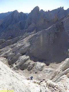 croquis torre arenera , fernando calvo guia de alta montaña , picos de europa ,