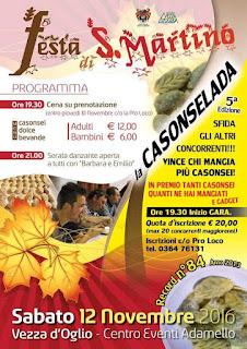 Festa di S.Martino 12 Novembre Vezza d'Oglio (BS)