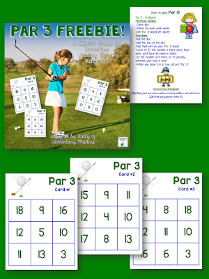 golf themed freebie