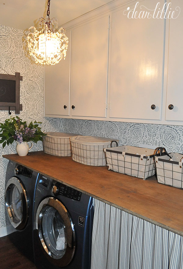 Dear Lillie A Little Laundry Room Makeover