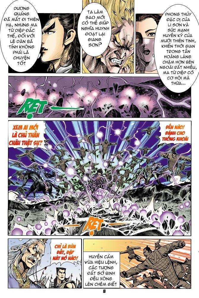 Đại Đường Uy Long chapter 56 trang 8