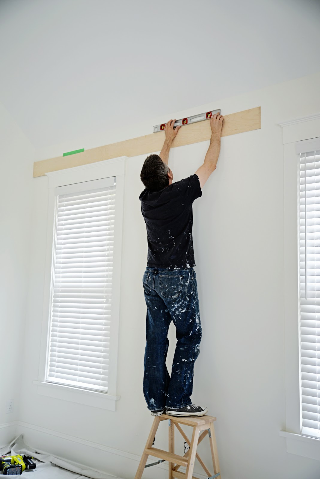 shiplap around windows, how to install a shiplap wall, cost of shiplap | Ramblingrenovators.ca
