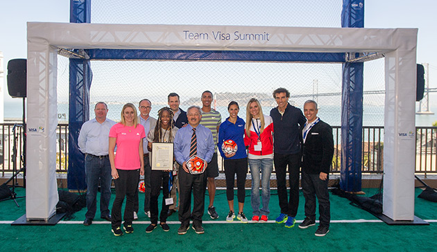 VISA presenta su equipo olímpico para los Juegos de Rio