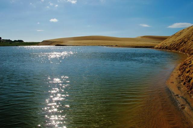 Lagoa do Boqueirão, em Camocim, na Rota das Emoções