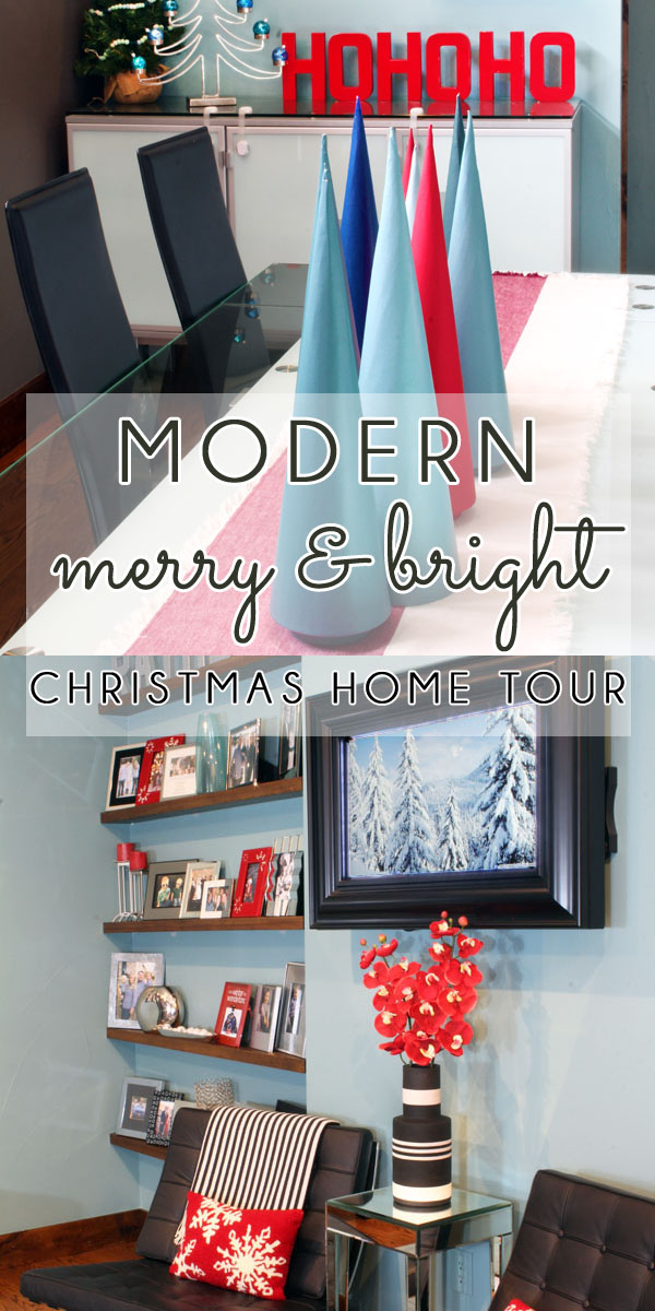 Modern Merry and Bright Christmas Decorations