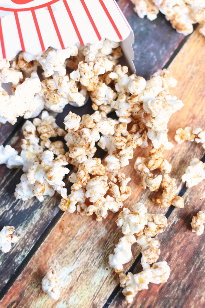 Cinnamon Honey Butter Popcorn Recipe