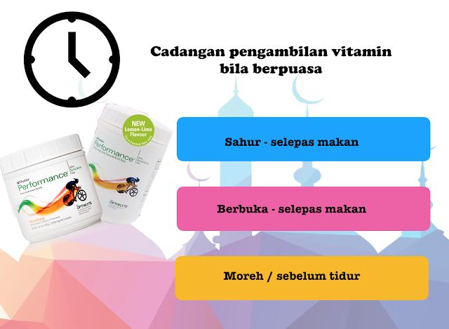 Berpuasa bersama vitamin Shaklee