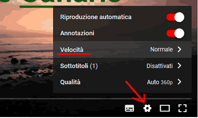 Come vedere un video al rallentatore su Youtube