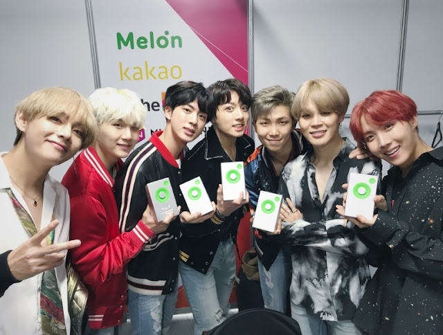 Melon musc awards 2017 - BTS