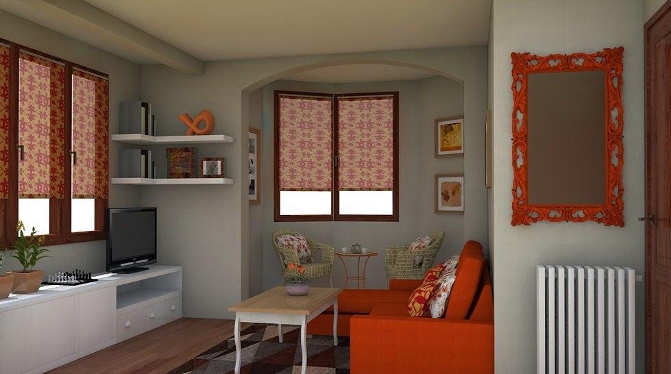 Arantxa amor decoraci n nueva imagen para sal n for Combinar muebles de distintos colores