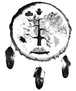 irokesischer Weltenbaum nach Wayne Eagleboy, Baum des Lebens