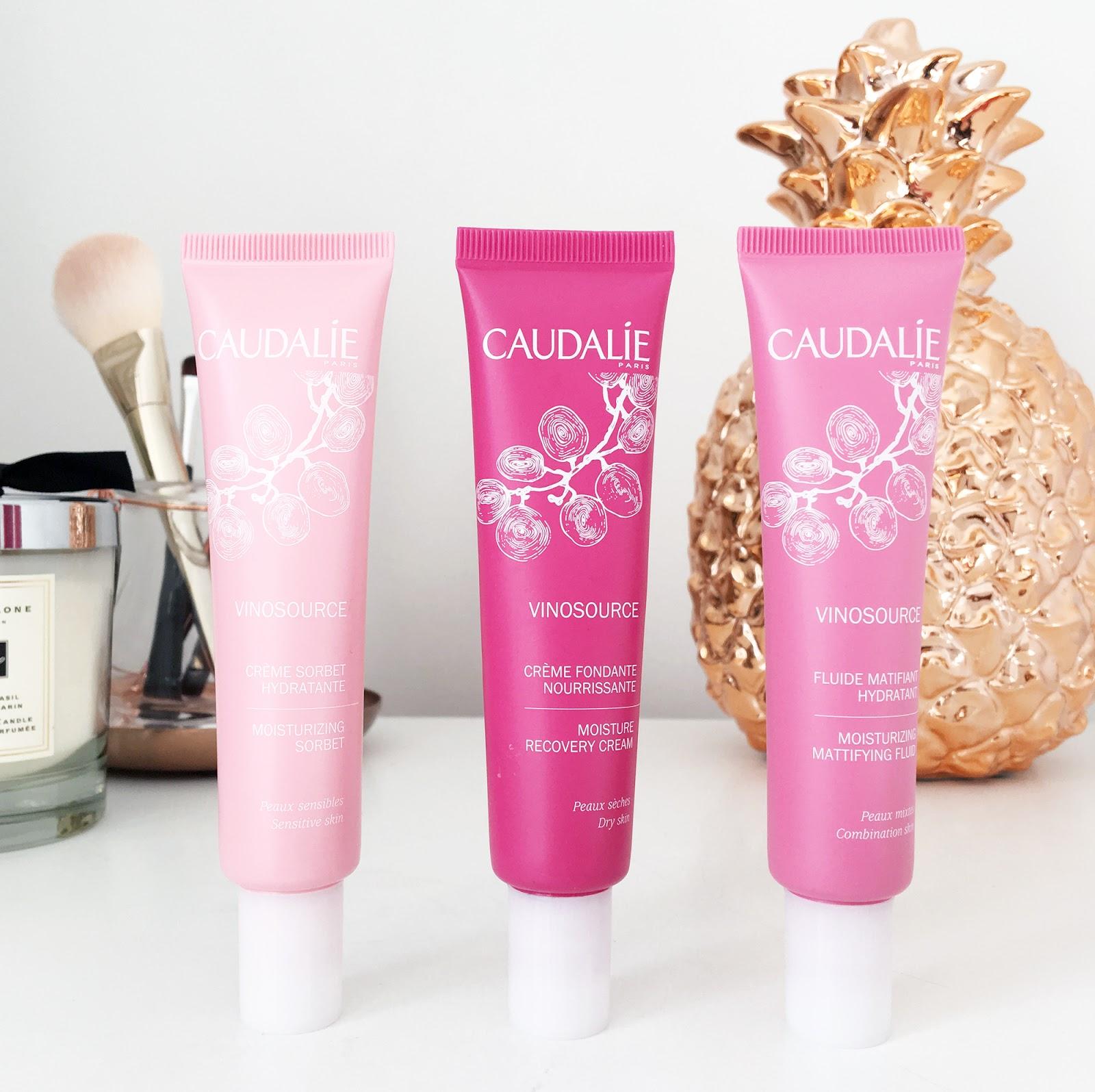 Caudalie Vinosource moisturisers review
