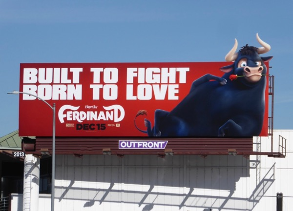 Ferdinand movie billboard